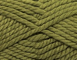 Fiber Content 55% Acrylic, 45% Wool, Khaki, Brand Ice Yarns, Yarn Thickness 6 SuperBulky  Bulky, Roving, fnt2-45127