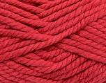 Fiber Content 55% Acrylic, 45% Wool, Salmon, Brand Ice Yarns, Yarn Thickness 6 SuperBulky  Bulky, Roving, fnt2-45132