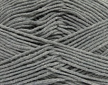 Fiber Content 55% Cotton, 45% Acrylic, Brand Ice Yarns, Grey, Yarn Thickness 4 Medium  Worsted, Afghan, Aran, fnt2-45137