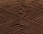 Fiber Content 55% Cotton, 45% Acrylic, Brand Ice Yarns, Brown, Yarn Thickness 4 Medium  Worsted, Afghan, Aran, fnt2-45139