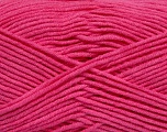 Fiber Content 55% Cotton, 45% Acrylic, Brand Ice Yarns, Candy Pink, Yarn Thickness 4 Medium  Worsted, Afghan, Aran, fnt2-45155