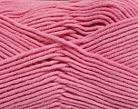 Fiber Content 55% Cotton, 45% Acrylic, Light Pink, Brand Ice Yarns, Yarn Thickness 4 Medium  Worsted, Afghan, Aran, fnt2-45156