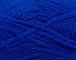 SuperBulky  Fiber Content 60% Acrylic, 30% Alpaca, 10% Wool, Royal Blue, Brand Ice Yarns, Yarn Thickness 6 SuperBulky  Bulky, Roving, fnt2-45162