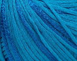 Fiber Content 79% Cotton, 21% Viscose, Turquoise, Brand Ice Yarns, Yarn Thickness 3 Light  DK, Light, Worsted, fnt2-45190