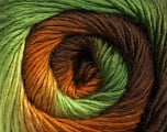 Fiber Content 50% Acrylic, 50% Wool, Brand Ice Yarns, Green Shades, Brown Shades, Yarn Thickness 2 Fine  Sport, Baby, fnt2-45316