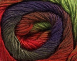 Fiber Content 50% Wool, 50% Acrylic, Red, Purple, Brand Ice Yarns, Green, Camel, Brown, Yarn Thickness 2 Fine  Sport, Baby, fnt2-45317