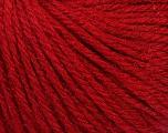 Fiber Content 40% Merino Wool, 40% Acrylic, 20% Polyamide, Brand Ice Yarns, Dark Red, Yarn Thickness 3 Light  DK, Light, Worsted, fnt2-45809
