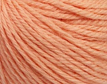 Fiber Content 40% Merino Wool, 40% Acrylic, 20% Polyamide, Light Salmon, Brand Ice Yarns, Yarn Thickness 3 Light  DK, Light, Worsted, fnt2-45812