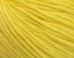 Fiber Content 40% Merino Wool, 40% Acrylic, 20% Polyamide, Light Yellow, Brand Ice Yarns, Yarn Thickness 3 Light  DK, Light, Worsted, fnt2-45815