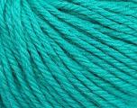 Fiber Content 40% Merino Wool, 40% Acrylic, 20% Polyamide, Brand Ice Yarns, Emerald Green, Yarn Thickness 3 Light  DK, Light, Worsted, fnt2-45818