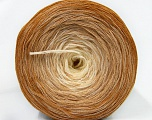 Fiber Content 50% Acrylic, 50% Cotton, Light Brown, Brand Ice Yarns, Cream, Cafe Latte, Yarn Thickness 2 Fine  Sport, Baby, fnt2-46160