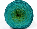 Fiber Content 50% Acrylic, 50% Cotton, Turquoise, Teal, Brand Ice Yarns, Green, Yarn Thickness 2 Fine  Sport, Baby, fnt2-46163
