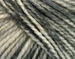 Fiber Content 75% Acrylic, 25% Wool, White, Brand Ice Yarns, Grey Shades, Yarn Thickness 5 Bulky  Chunky, Craft, Rug, fnt2-46222