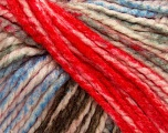 Fiber Content 75% Acrylic, 25% Wool, White, Red, Light Blue, Brand Ice Yarns, Grey, Brown, Yarn Thickness 5 Bulky  Chunky, Craft, Rug, fnt2-46226