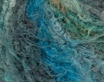 Fiber Content 100% Polyamide, Turquoise, Teal, Brand ICE, Grey, Yarn Thickness 5 Bulky  Chunky, Craft, Rug, fnt2-46415