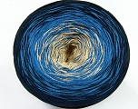 Fiber Content 50% Cotton, 50% Acrylic, Navy, Brand Ice Yarns, Blue, Beige, Yarn Thickness 2 Fine  Sport, Baby, fnt2-46425