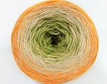 Fiber Content 50% Cotton, 50% Acrylic, Orange, Brand Ice Yarns, Green, Beige, Yarn Thickness 2 Fine  Sport, Baby, fnt2-46428