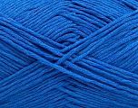 Please note that the yarn weight and the ball length may vary from one color to another for this yarn. Fasergehalt 100% Baumwolle, Brand Ice Yarns, Blue, Yarn Thickness 3 Light  DK, Light, Worsted, fnt2-46498