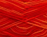 Fiber Content 100% Premium Acrylic, Yellow, Red, Orange, Brand Ice Yarns, Yarn Thickness 3 Light  DK, Light, Worsted, fnt2-46502