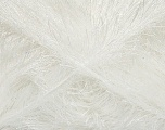 Fiber Content 80% Polyester, 20% Lurex, White, Optical White, Brand Ice Yarns, Yarn Thickness 5 Bulky  Chunky, Craft, Rug, fnt2-46548