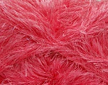 Fiber Content 80% Polyester, 20% Lurex, Brand Ice Yarns, Candy Pink, Yarn Thickness 5 Bulky  Chunky, Craft, Rug, fnt2-46556