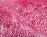 Fiber Content 80% Polyester, 20% Lurex, Light Pink, Brand Ice Yarns, Yarn Thickness 5 Bulky  Chunky, Craft, Rug, fnt2-46557