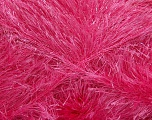 Fiber Content 80% Polyester, 20% Lurex, Pink, Brand ICE, Yarn Thickness 5 Bulky  Chunky, Craft, Rug, fnt2-46558