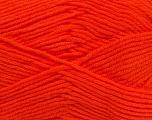 Fiber Content 100% Micro Acrylic, Orange, Brand Ice Yarns, Yarn Thickness 3 Light  DK, Light, Worsted, fnt2-46645
