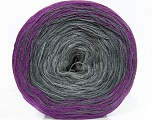 Fiber Content 50% Acrylic, 50% Cotton, Purple, Brand ICE, Grey Shades, Yarn Thickness 2 Fine  Sport, Baby, fnt2-46651