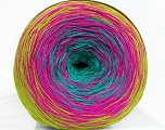 Fiber Content 50% Acrylic, 50% Cotton, Turquoise, Olive Green, Brand Ice Yarns, Fuchsia, Yarn Thickness 2 Fine  Sport, Baby, fnt2-46655