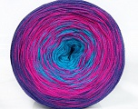 Fiber Content 50% Cotton, 50% Acrylic, Turquoise, Purple, Brand Ice Yarns, Fuchsia, Yarn Thickness 2 Fine  Sport, Baby, fnt2-46660