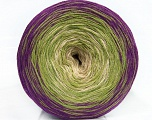 Fiber Content 50% Cotton, 50% Acrylic, Purple, Brand ICE, Green, Beige, Yarn Thickness 2 Fine  Sport, Baby, fnt2-46661