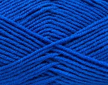 Fiber Content 50% Acrylic, 50% Wool, Brand ICE, Blue, Yarn Thickness 4 Medium  Worsted, Afghan, Aran, fnt2-46688