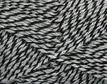 Fiber Content 60% Acrylic, 40% Wool, Brand Ice Yarns, Grey, Black, fnt2-46731