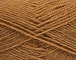 Fiber Content 60% Acrylic, 40% Wool, Light Brown, Brand Ice Yarns, Yarn Thickness 3 Light  DK, Light, Worsted, fnt2-46735