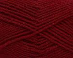 Fiber Content 60% Acrylic, 40% Wool, Brand Ice Yarns, Burgundy, Yarn Thickness 3 Light  DK, Light, Worsted, fnt2-46747