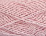 Fiber Content 60% Acrylic, 40% Wool, Powder Pink, Brand Ice Yarns, Yarn Thickness 3 Light  DK, Light, Worsted, fnt2-46753