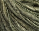 Fiber Content 50% Wool, 50% Acrylic, Khaki, Brand Ice Yarns, Yarn Thickness 4 Medium  Worsted, Afghan, Aran, fnt2-46862