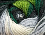 Fasergehalt 100% Acryl, White, Brand Ice Yarns, Grey, Green Shades, Black, Yarn Thickness 4 Medium  Worsted, Afghan, Aran, fnt2-46962