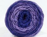 Fiber Content 100% Acrylic, Purple Shades, Brand Ice Yarns, Yarn Thickness 4 Medium  Worsted, Afghan, Aran, fnt2-47071