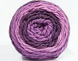 Fiber Content 100% Acrylic, Lilac Shades, Brand Ice Yarns, Yarn Thickness 4 Medium  Worsted, Afghan, Aran, fnt2-47072