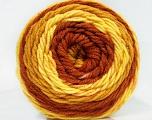 Fiber Content 100% Acrylic, Yellow, Brand Ice Yarns, Gold, Brown, Yarn Thickness 4 Medium  Worsted, Afghan, Aran, fnt2-47073