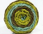 Fiber Content 100% Acrylic, Turquoise, Brand Ice Yarns, Green Shades, Yarn Thickness 4 Medium  Worsted, Afghan, Aran, fnt2-47075