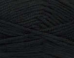 Fiber Content 50% Acrylic, 25% Alpaca, 25% Wool, Brand Ice Yarns, Black, Yarn Thickness 5 Bulky  Chunky, Craft, Rug, fnt2-47129
