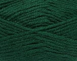 Fiber Content 50% Acrylic, 25% Wool, 25% Alpaca, Brand Ice Yarns, Dark Green, Yarn Thickness 5 Bulky  Chunky, Craft, Rug, fnt2-47138