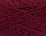 Fiber Content 50% Acrylic, 25% Alpaca, 25% Wool, Brand Ice Yarns, Burgundy, Yarn Thickness 5 Bulky  Chunky, Craft, Rug, fnt2-47140