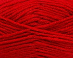 Fiber Content 50% Acrylic, 25% Wool, 25% Alpaca, Red, Brand Ice Yarns, Yarn Thickness 5 Bulky  Chunky, Craft, Rug, fnt2-47141