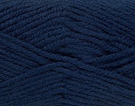 Fiber Content 50% Acrylic, 25% Alpaca, 25% Wool, Navy, Brand Ice Yarns, Yarn Thickness 5 Bulky  Chunky, Craft, Rug, fnt2-47143