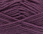 Fiber Content 50% Acrylic, 25% Wool, 25% Alpaca, Purple, Brand Ice Yarns, Yarn Thickness 5 Bulky  Chunky, Craft, Rug, fnt2-47146