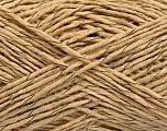 Fiber Content 60% Cotton, 40% Acrylic, Brand Ice Yarns, Camel, fnt2-47282